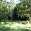 Back acreage behind the lodge. Plenty of space for sports or group activities